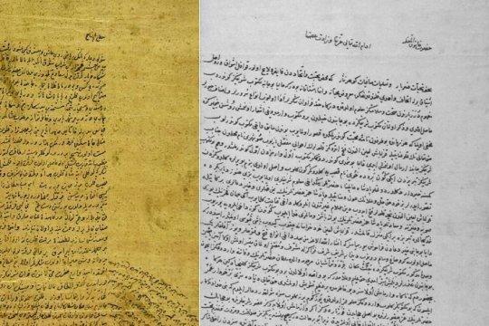 Surat cinta ungkapkan kisah cinta paling terkenal pada masa Utsmaniyah