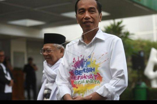 Ratusan sukarelawan Bravo-5 menyatakan siap memenangkan Jokowi-Ma`ruf
