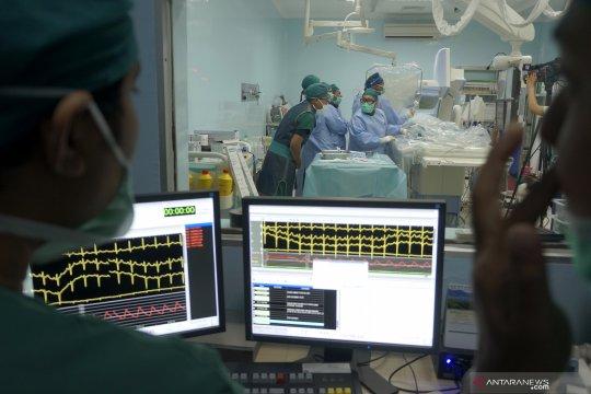 Pelatihan pemasangan ring jantung digelar Perki Tulungagung-Jatim