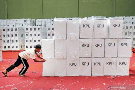 KPU Surakarta temukan 58 kotak suara rusak