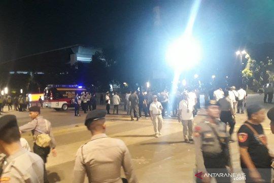 Ledakan di Parkir Timur Senayan berupa petasan