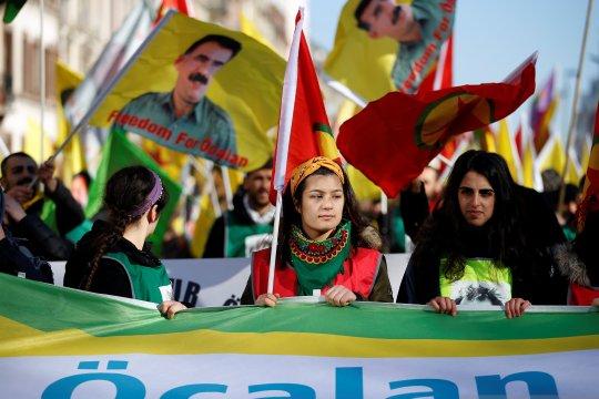 Anggota parlemen suku Kurdi akhiri mogok makan di Turki
