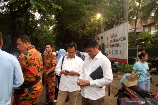 Para Relawan mulai berdatangan ke Pos BPN Prabowo-Sandiaga