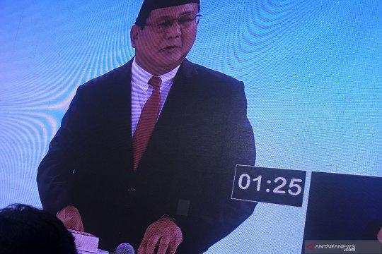 Prabowo nyatakan siap hadapi debat