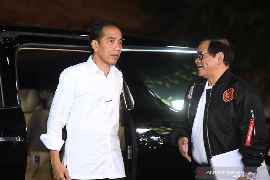 Jokowi tiba di lokasi debat