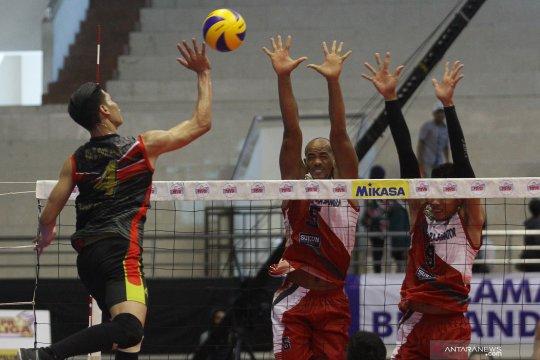 Dimas dan Yulis pemain paling senior di timnas bola voli SEA Games