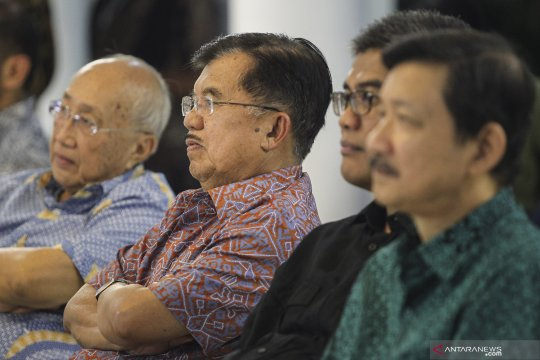 Wapres JK jelaskan penggabungan pada Kementerian LHK