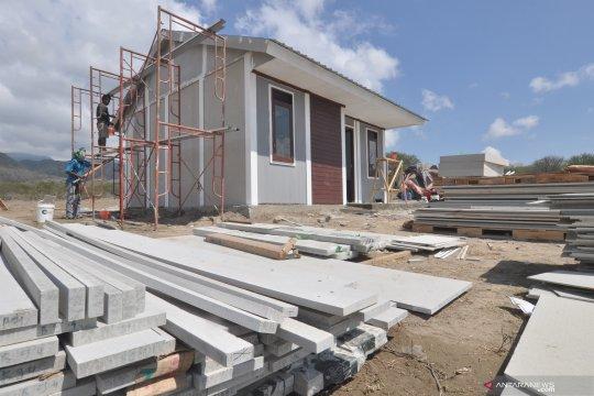 Pembangunan hunian tetap bagi korban bencana gempa bumi dan tsunami di Palu