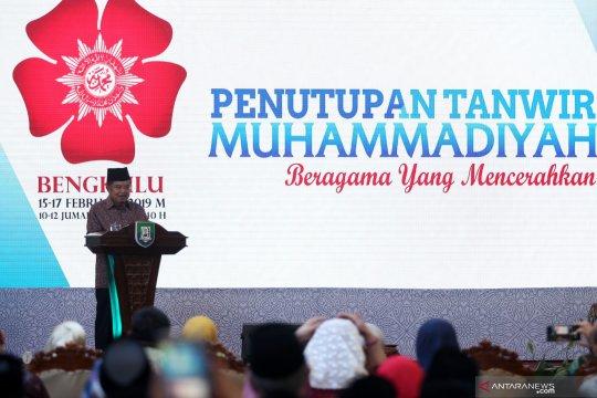 Penutupan Tanwir Muhammadiyah di Bengkulu