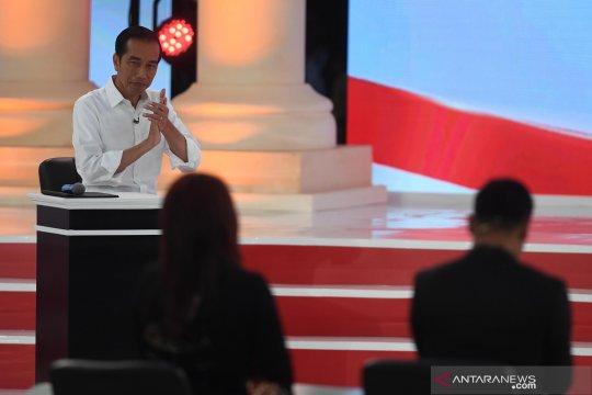 Jokowi: Dana desa bantu pembangunan infrastruktur