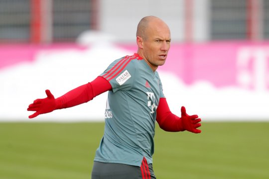 """Anfield  """"stadion terburuk"""" bagi Robben"""