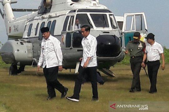 Presiden tiba di Banten tinjau pendidikan kebencanaan untuk siswa siswi