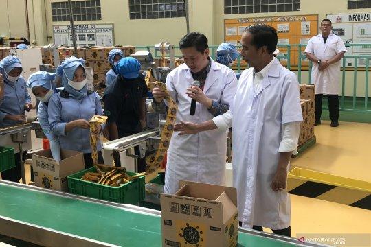 """Presiden senang ada produk Indonesia """"jajah"""" 100 negara"""