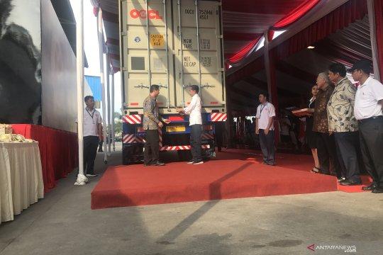 Jokowi lepas kontainer ekspor kopi ke-250.000 dari Tangerang