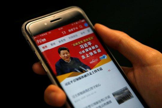 Alibaba disebut ada di balik aplikasi Partai Komunis China