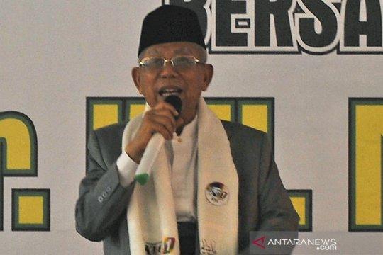 Ma'ruf Amin sesalkan peristiwa intimidasi kepada wartawan dalam Munajat 212