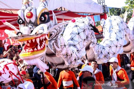 Perayaan Cap Go Meh di Singkawang Kalbar dibanjiri puluhan ribu wisatawan