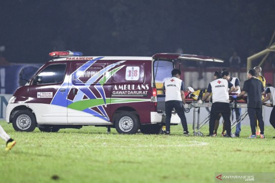 Jajang Mulyana masih bergelut dalam program pemulihan cedera