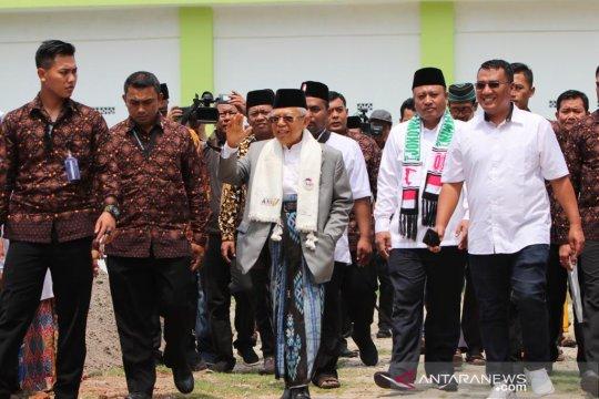 Kiai Ma'ruf ajak media kelilingi Ponpes An-Nawawi Tanara