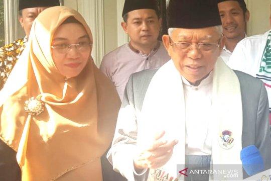 Kiai Ma'ruf ingatkan masyarakat Banten pilih pemimpin yang pahami agama