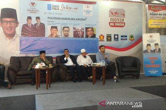 BPN klaim tren elektabilitas Prabowo-Sandi di Jateng-Jatim makin bagus