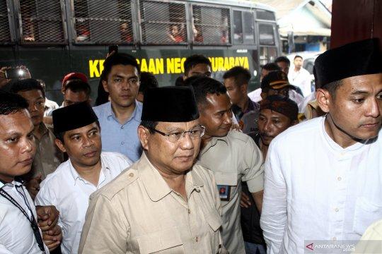 Prabowo terima mantan Jenderal AS di Hambalang