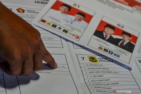 KPU Lampung Timur tunggu pengiriman surat suara tahap kedua
