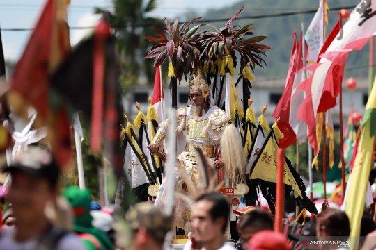800 tatung akan meramaikan perayaan Cap Go Meh di Singkawang