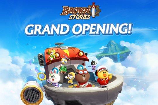 Si beruang cokelat menggemaskan kini hadir dalam game Brown Stories