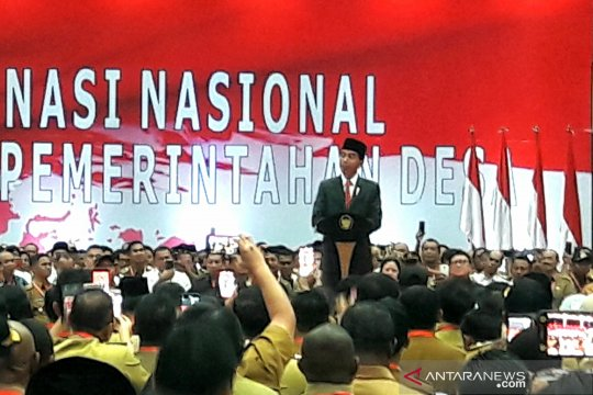 Jokowi ingatkan masyarakat jaga persatuan di tengah pemilu 2019