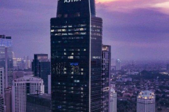 Menara setinggi 261 meter tandai HUT ke-62 Astra