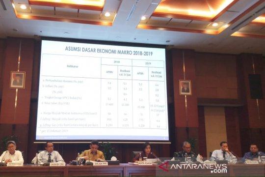 Kemenkeu catat rasio utang pemerintah Januari 2019 capai 30,1 persen PDB