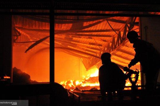 Kebakaran gudang  di Magetan tewaskan penjaga