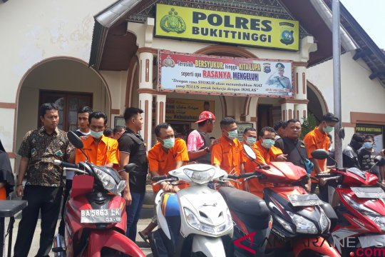 Polisi ungkap 12 kasus penyalahgunaan narkoba di Bukittinggi