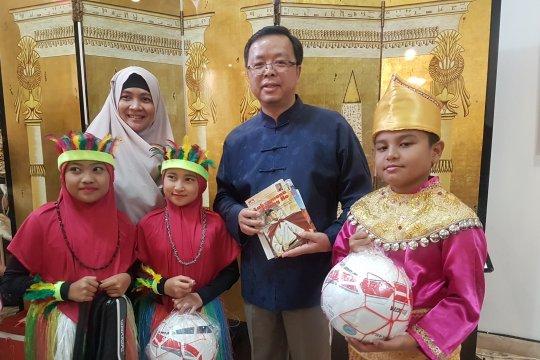 China donasikan perpustakaan untuk TK, SD Al-Ikhwan di Tangerang