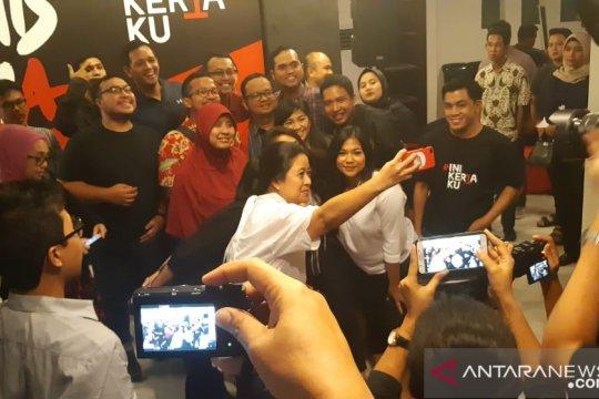 Puan sebut Jokowi sebagai pekerja keras