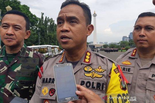 Polisi tangkap koboi todongkan senpi di Jakarta Pusat