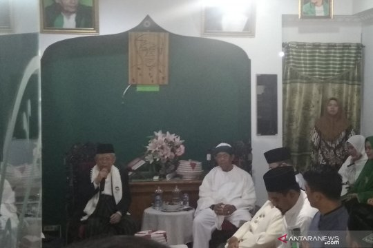 Ma'ruf Amin silaturahim dengan ulama Makassar