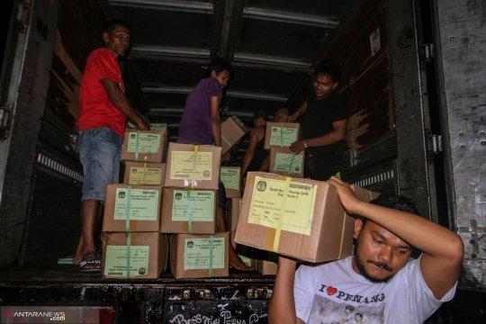 Ribuan surat suara DPR di Temanggung rusak