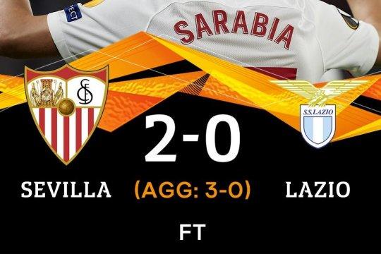 Bungkam Lazio 2-0, Sevilla lolos ke babak 16 besar Liga Europa