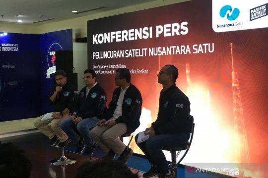 PSN sukses luncurkan Satelit Nusantara Satu ke orbit