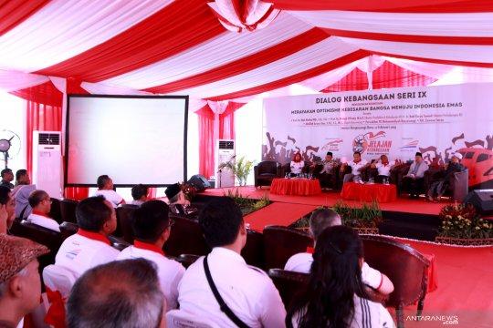 Mahfud: 2045 akan terwujud Indonesia Emas
