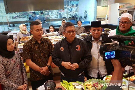 Hasto cerita pentingnya kuliner nusantara dalam politik nasional