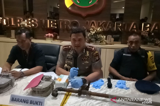 Polres Metro Jakbar tetapkan dua tersangka ledakan Mal Taman Anggrek