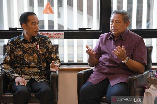 Presiden Jokowi sebut kondisi kesehatan Ani Yudhoyono membaik