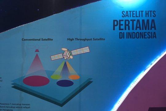 Alasan satelit Nusantara Satu diluncurkan dari Amerika