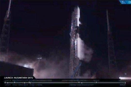 Sudah meluncur, kapan satelit Nusantara Satu mulai beroperasi?