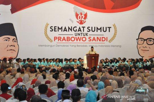Prabowo bertekad menghabiskan sisa hidup hanya untuk rakyat