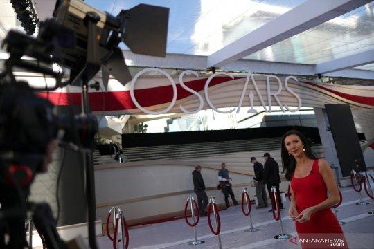Persiapan menjelang perhelatan the 91st Academy Awards di Hollywood