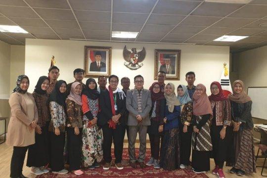 Pemuda Indonesia belajar ekonomi kreatif di Korea Selatan